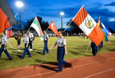 Homecoming Color Guard 11/2/18