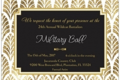 Military Ball 2017 Wildcat Battalion Jrotc