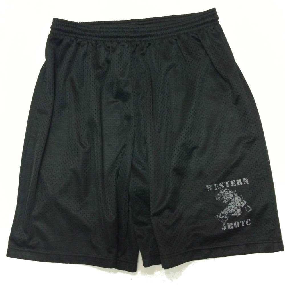 PT Shorts-Grey Logo